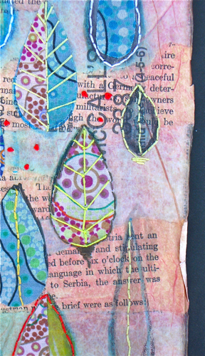 CloudsRain Stitch Detail