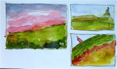 Watercolor Sampler 1
