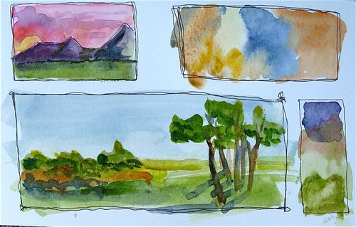 Watercolor Sampler 2