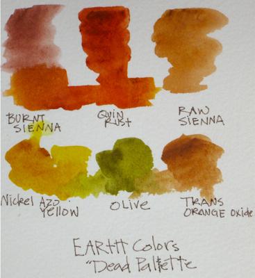 Watercolor Dead Palette