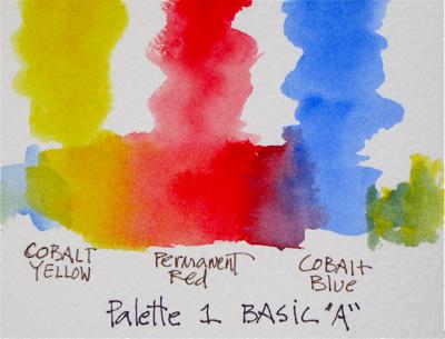 Watercolor Basic Palette 1A