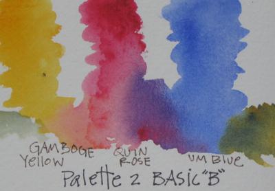 Watercolor Basic Palette 1B