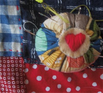 Detail hand pojaki w:pincushion