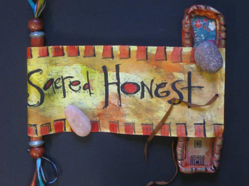 Sacred Honest front