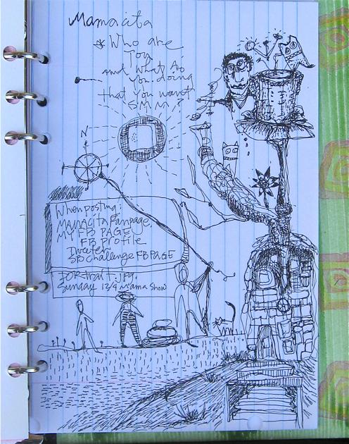 Doodle Mamacita Meeting