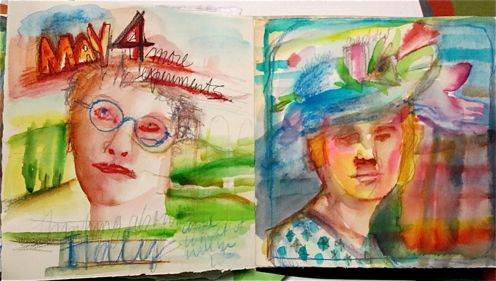 Art Journal_Watercolor_Susan Cohen