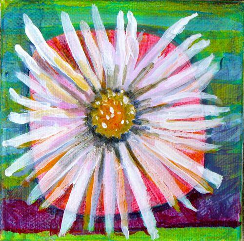 Daisy, DianaTrout 2012,Canvas