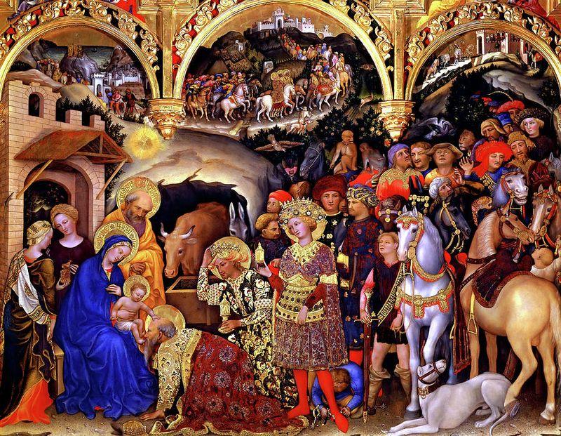 Gentile da Fabriano, Adoration
