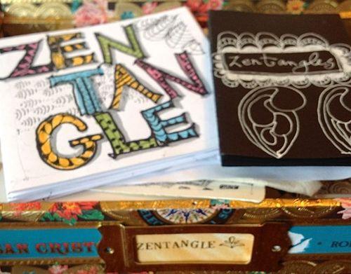 Cigar Box Zentangle Diana Trout