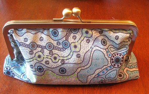 clutch purse, diana trout
