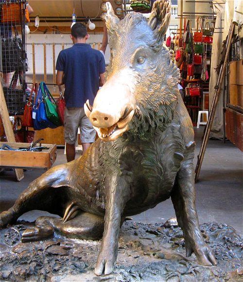Wild Boar, Straw Market, Italy