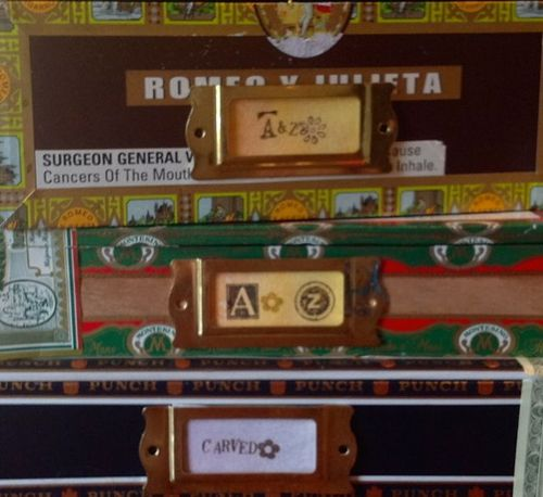 Cigar Box Stamps