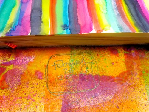art journal, Diana Trout