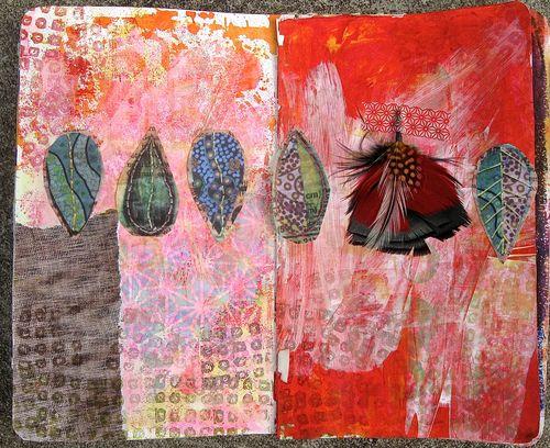 diana trout, art journal