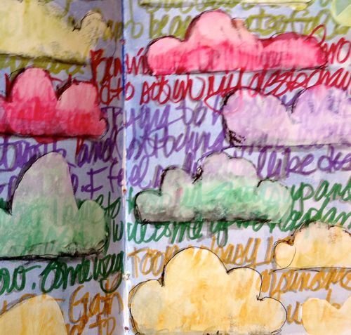 Clouds Diana Trout Journal