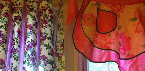 Apron Curtains, Diana Trout