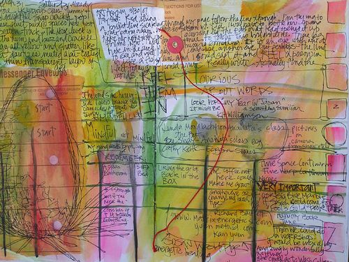 Spill writing, Diana Trout