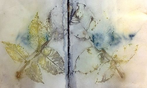 Rose Leaves Windfall Paper, Diana Trout