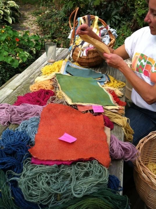 Fabric Swatches, Brenda Howell
