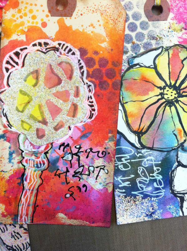 Art Tags, Diana Trout