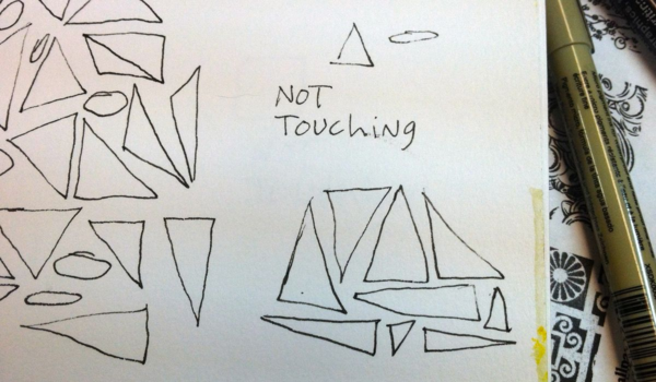 not touching, diana trout