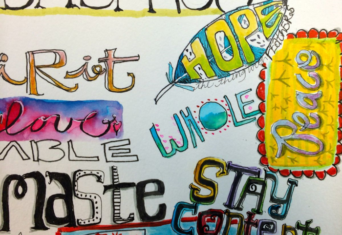 Lettering, Diana Trout