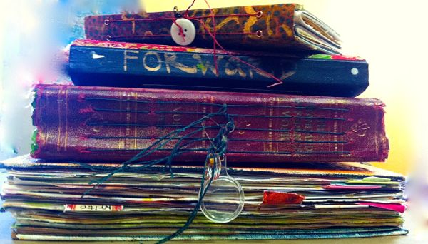 Stack of Journals, Diana Trout