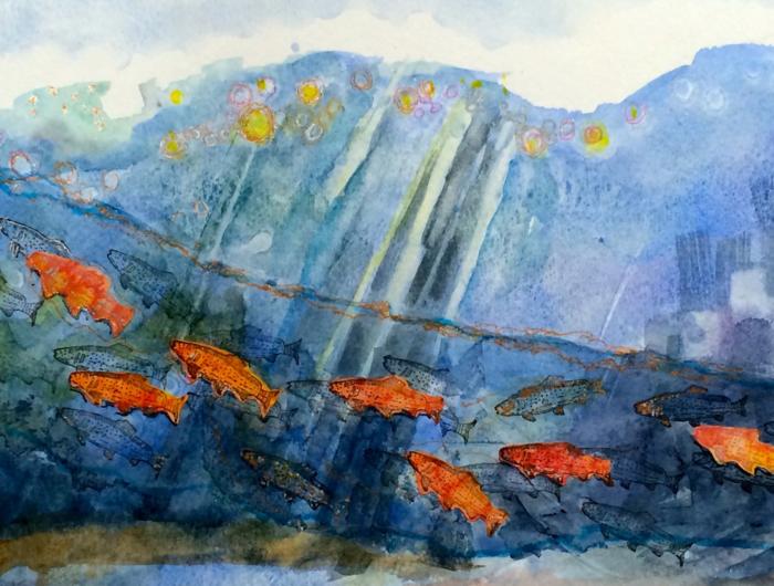 Underwater, Diana Trout