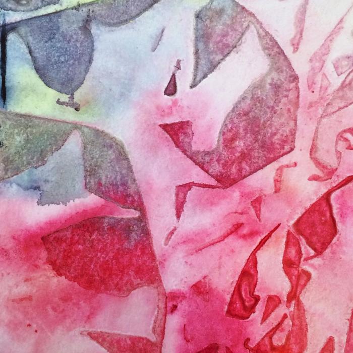 Saran Wrap Background, Diana Trout