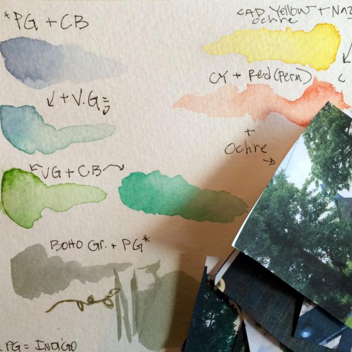 Palette, Diana Trout