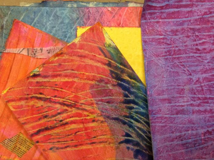 Paste Paper, Diana Trout