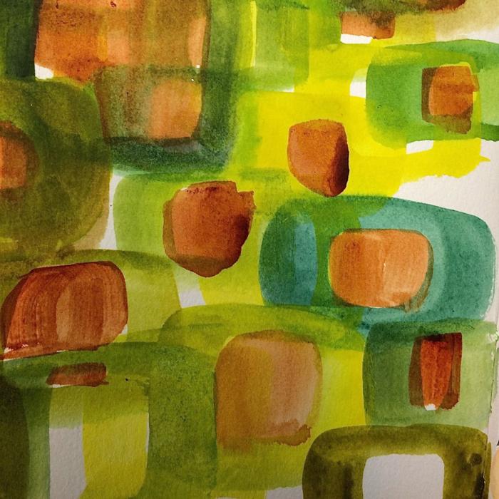 Squares, Diana Trout